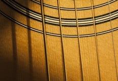 Солнечность на гитаре Стоковая Фотография RF