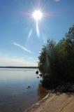 солнечность пляжа Стоковые Фото