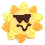 солнечность сахара печенья стоковое фото