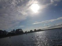 солнечные воды Стоковое фото RF