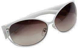 солнечные очки белые Стоковое Фото