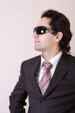 солнечные очки бизнесмена Стоковое Изображение RF