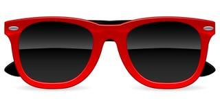 солнечные очки иконы иллюстрация вектора