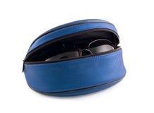 солнечные очки коробки Стоковые Изображения RF