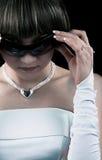 солнечные очки невесты Стоковое Изображение