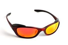 солнечные очки объективов самомоднейшие поляризовыванные Стоковая Фотография RF
