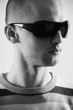 солнечные очки портрета Стоковое Изображение