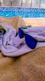 Солнечные очки праздника Стоковая Фотография RF
