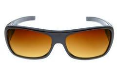 солнечные очки предпосылки коричневые холодные белые Стоковое Изображение RF