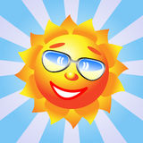 солнечные очки солнца Стоковые Фото