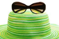 солнечные очки сторновки шлема Стоковая Фотография