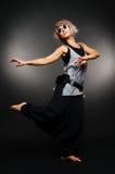 солнечные очки танцора вскользь одежд Стоковое Изображение