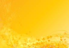 Солнечные примечания Стоковое Изображение