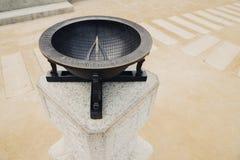 Солнечные часы, корейское традиционное культурное наследие стоковое изображение rf