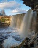 Солнечный день на водопаде Jagala Стоковые Фотографии RF