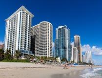 Солнечный пляж островов в Флориде стоковые изображения rf
