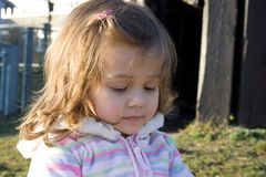Солнечный портрет Стоковые Фотографии RF