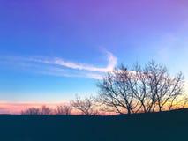 Солнечный свет приходя через облака Стоковое фото RF
