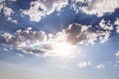 солнечный свет светя стоковое фото rf