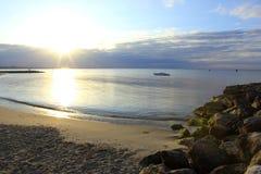 солнцеворот sandbanks стоковые изображения