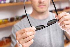 Солнцезащитные очки Стоковые Фотографии RF