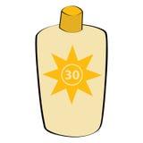 солнцезащитный крем лосьона Стоковое Изображение RF