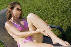 солнцезащитный крем Стоковые Фото