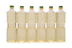 солнцецвет масла бутылки Стоковое Изображение RF