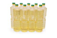 солнцецвет масла бутылки Стоковая Фотография