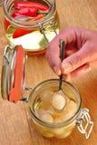 солнцецвет перлы лука масла органический Стоковая Фотография