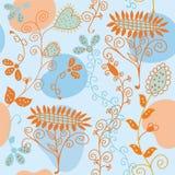 солнцецвет флористической картины безшовный иллюстрация штока