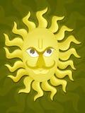 солнце бога Стоковые Изображения