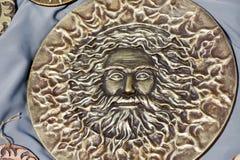 Солнце Бог Jarilo Стоковые Изображения