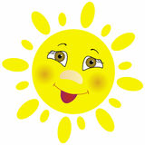 Солнце вектора Стоковое фото RF