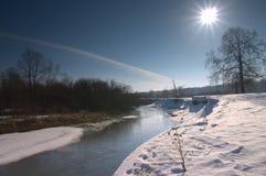 солнце весны Стоковые Фотографии RF