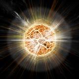 солнце взрыва апокалипсиса бесплатная иллюстрация