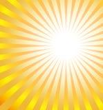 солнце взрыва Стоковая Фотография