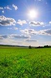 солнце вниз Стоковое Изображение RF