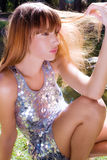 солнце волос Стоковое Изображение RF