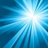солнце голубого неба иллюстрация вектора