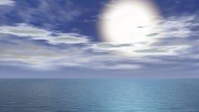 солнце зарева Стоковые Изображения RF