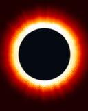 солнце затмения Стоковые Фото
