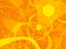 солнце иллюстрации беспорядка Стоковая Фотография