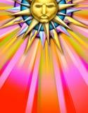 солнце иллюстрации иллюстрация вектора
