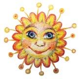солнце иллюстрации Стоковые Изображения