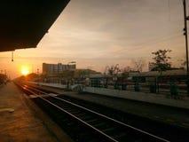 Солнце и надежда утра стоковые фотографии rf