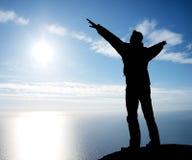 солнце, котор нужно поклониться Стоковая Фотография RF