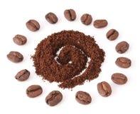 солнце кофе Стоковое Изображение