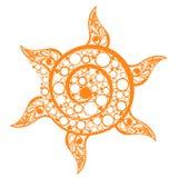солнце кругов Стоковые Изображения RF