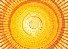солнце кругов иллюстрация штока